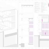 15 Seccion constructiva transversal y detalle 3d